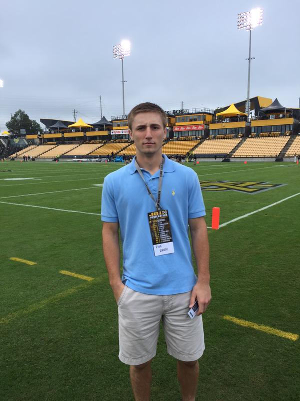 Calhoun athlete, Ryan Randall at Kennesaw State