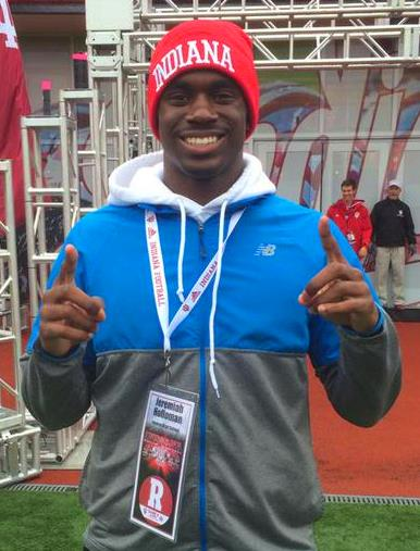 Holloman excited about his offer from Indiana