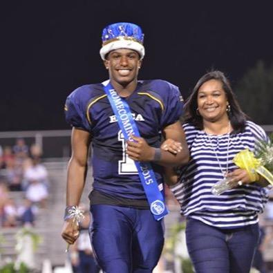 Donald Hammond -Homecoming King, SR Captain and now Air Force commit